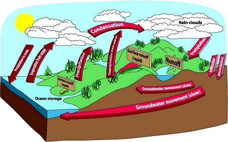 Printables Water Cycle Diagram For 5th Grade water related education materials for grades 5 6 the project