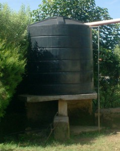 The Water Project : bishop-sulumeti-rainfall-water-storage