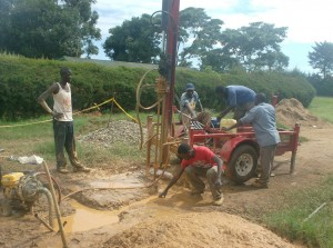 The Water Project : drilling-process-at-bishop-sulumeti-girls-sec-school_web-2