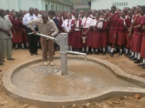 The Water Project : bishop-sulumeti-girls-school-can-enjoy-clean-and-safe-drinking-water