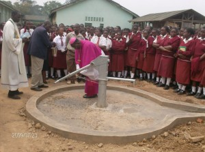 The Water Project : handpump-scheme-being-officially-opened