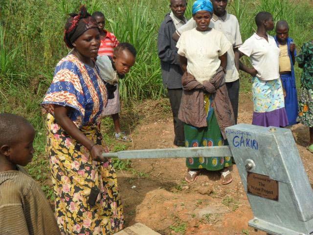 Photo of Gakiri Community Well