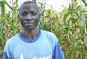 Luka Tondo P. - Community Member, discussing her newly donated water project in South Sudan