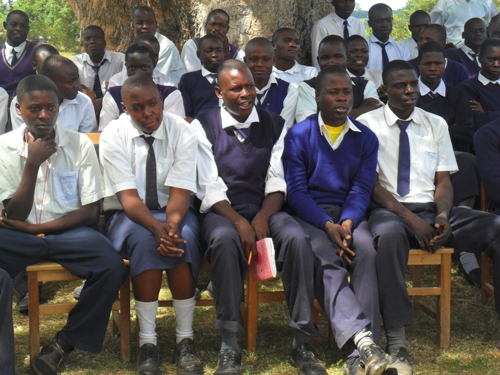 The Water Project : lwanda-k-sec-school-community-education-4