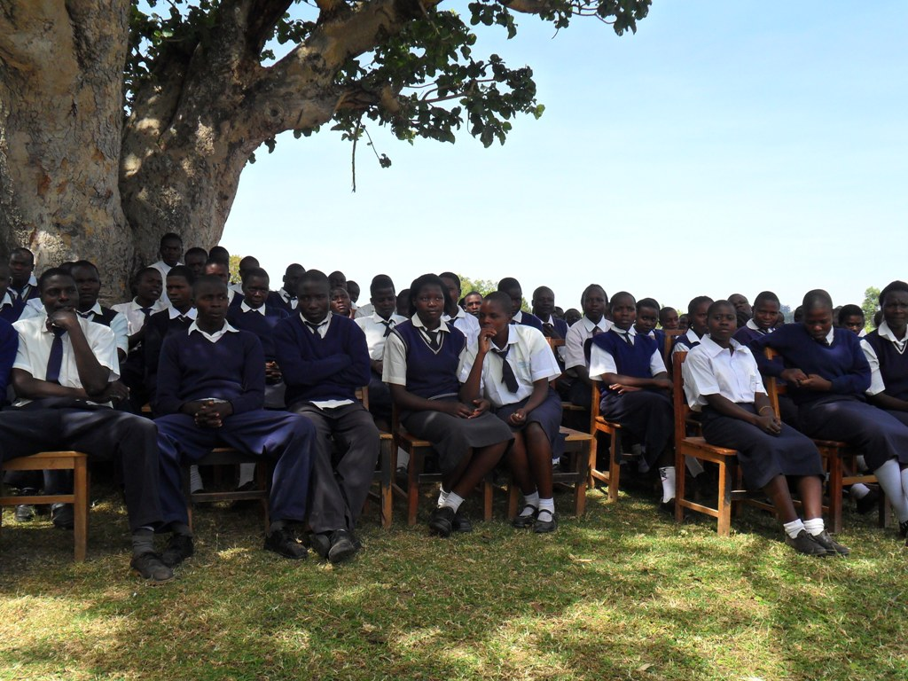 The Water Project : lwanda-k-sec-school-community-education-5