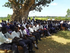 The Water Project : lwanda-k-community-education-4
