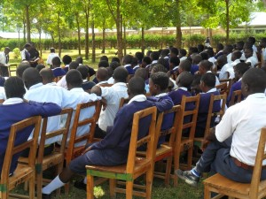 The Water Project : lwanda-k-school-community-education