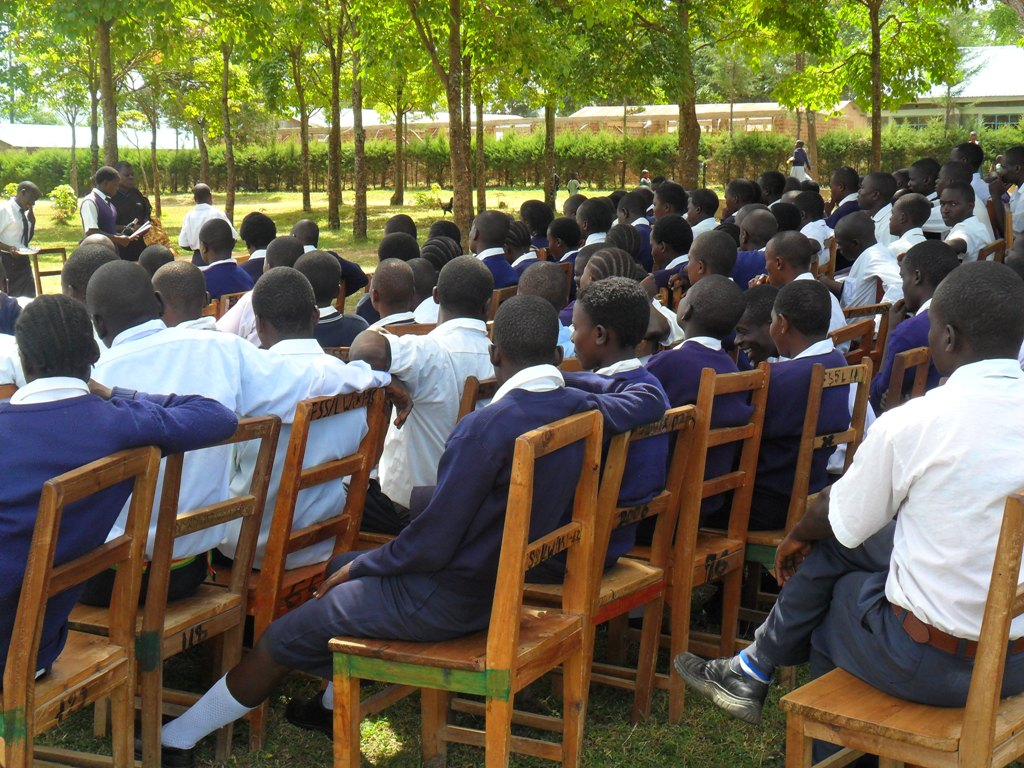 The Water Project : lwanda-k-school-community-education-4