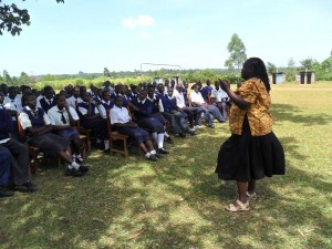 The Water Project : lwanda-k-sec-school-community-education-3
