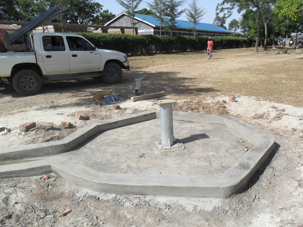The Water Project : constructed-pad-lwanda-k-sec-school-3