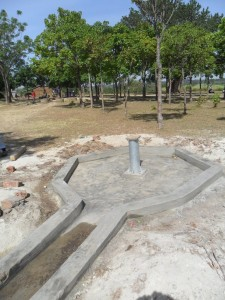The Water Project : constructed-pad-lwanda-k-sec-school-1