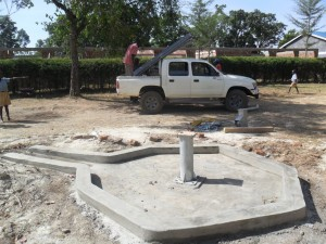 The Water Project : constructed-pad-lwanda-k-sec-school-2
