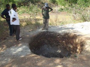 The Water Project : kakai-sw-during-excavation-13-2