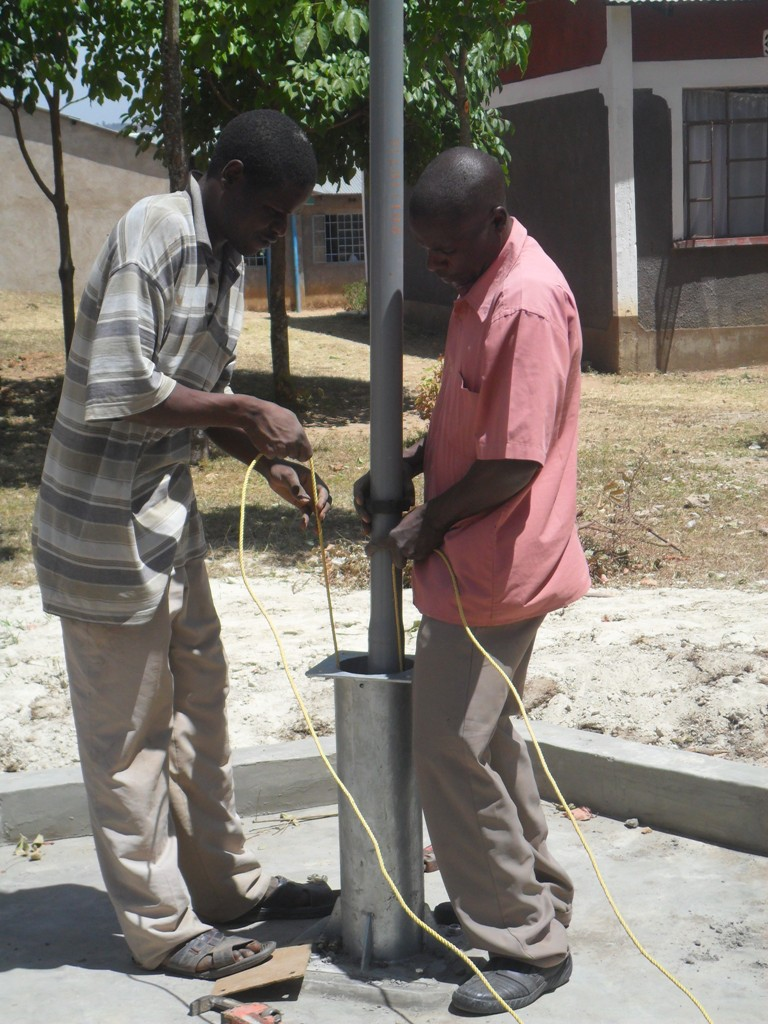 The Water Project : pump-installation-lwanda-k-sec-school-3