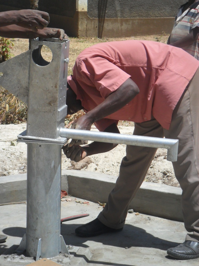 The Water Project : pump-installation-lwanda-k-secondary-3