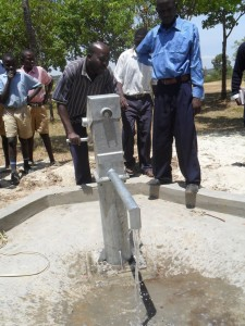 The Water Project : water-flowing-lwanda-k-sec-school