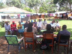 The Water Project : community-education-wazee-hukumbuka-2