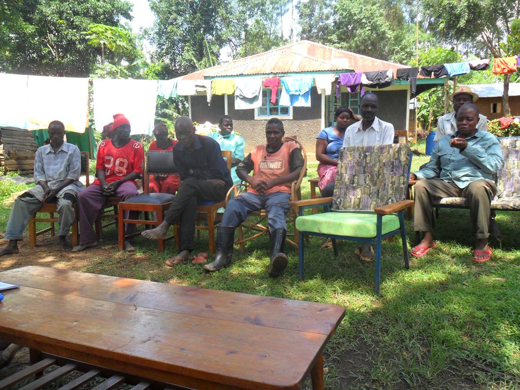 The Water Project : community-education-wazee-hukumbuka-6