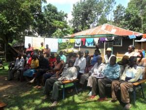 The Water Project : community-education-wazee-hukumbuka-4