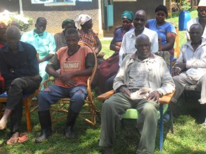 The Water Project : community-education-wazee-hukumbuka-5