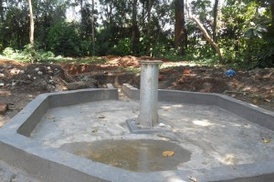 The Water Project : constructed-pad-wazee-hukumbuka-002
