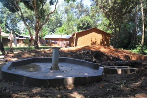 The Water Project : constructed-pad-wazee-hukumbuka-003