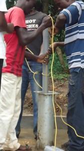 The Water Project : pump-installation-wazee-hukumbuka-001