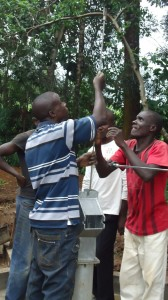 The Water Project : pump-installation-wazee-hukumbuka-002