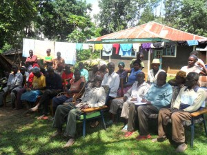 The Water Project : wazee-hukumbuka-community-education