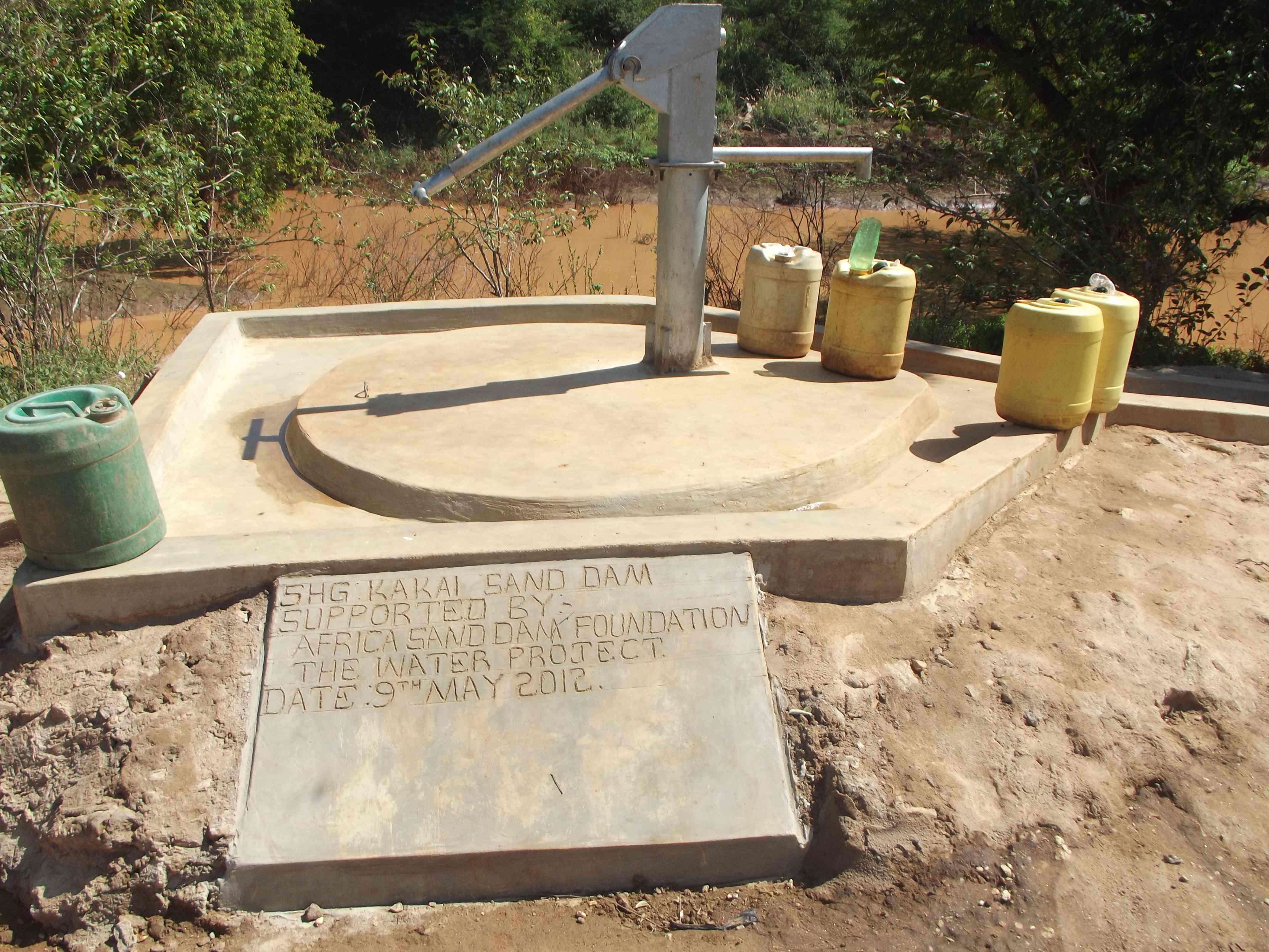 The Water Project : completed-kakai-shallow-well-17-2