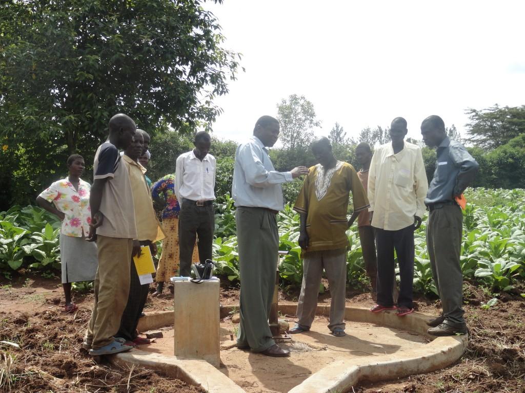 Photo of Ang'urai Kolait Borehole Rehabilitation Project