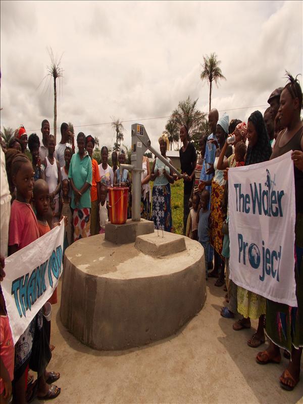 Photo of Nyandehun Well Rehabilitation Project