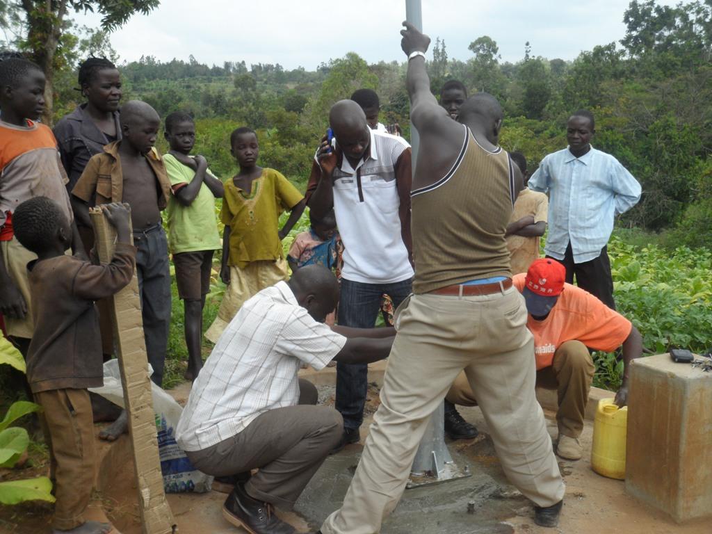 The Water Project : kenya4135_work-in-progress
