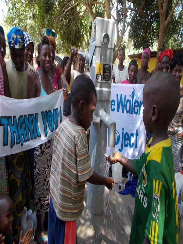 Photo of Royama Community Well Rehabilitation