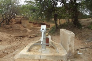 The Water Project : kenya4027-shallow-well_july-2013-1