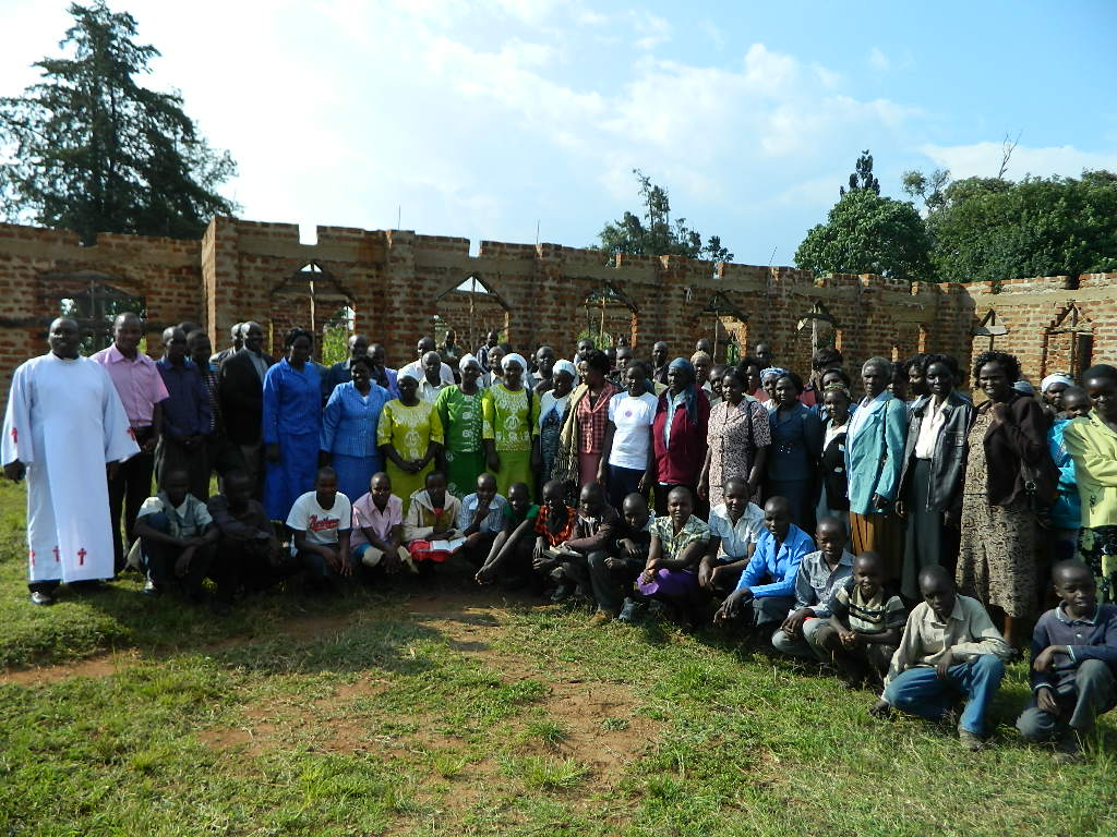 The Water Project : kenya4160-church-members-3