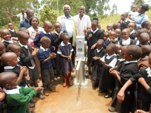 The Water Project : kenya4160-mr-bett-the-church-elder