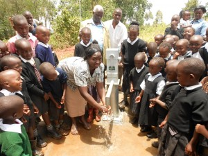 The Water Project : kenya4160-nursary-school-teacher