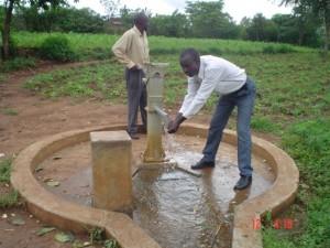 The Water Project : kenya4135-angurai-kolait-borehole-4