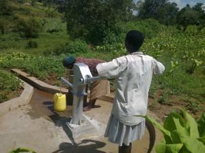 The Water Project : kenya4135-angurai-kolait-borehole-6