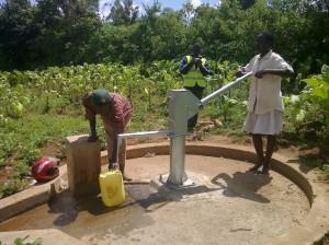 The Water Project : kenya4135-angurai-kolait-borehole-7