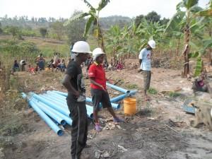 The Water Project : rwanda3066-drilling-4