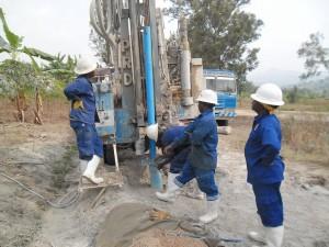 The Water Project : rwanda3066-drilling