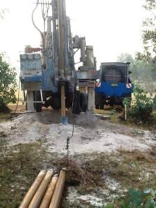The Water Project : rwanda3067-drilling-1