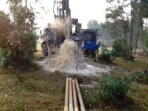 The Water Project : rwanda3067-drilling-2