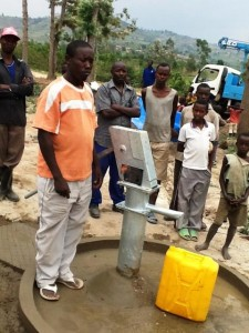 The Water Project : rwanda3069-water-flowing-2