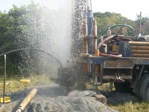 The Water Project : uganda6037-drilling-2