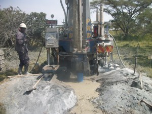 The Water Project : uganda6037-drilling