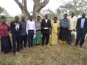 The Water Project : uganda6037-water-user-committee
