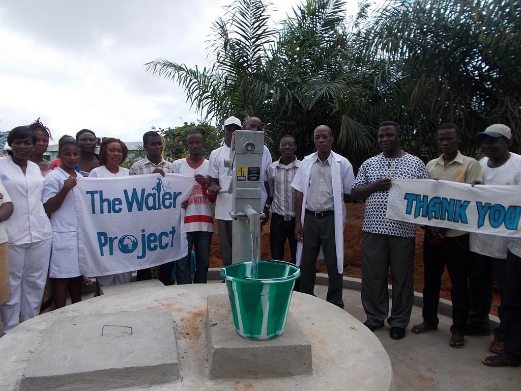 Photo of Malokoh Community Well Rehabilitation